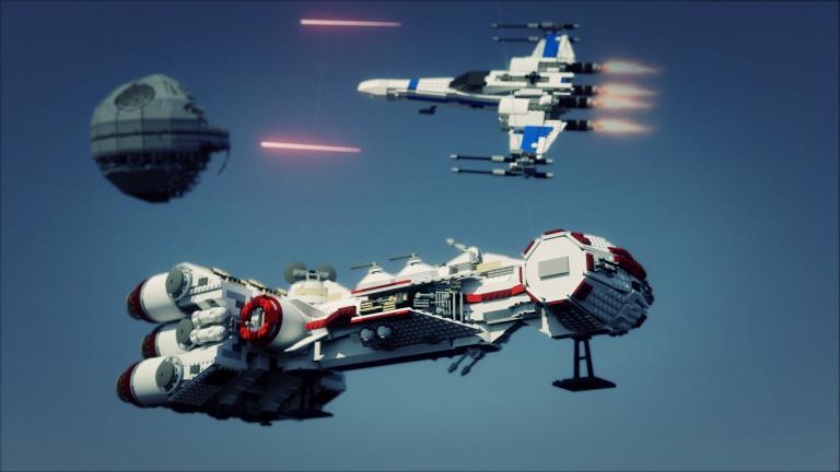 LEGO STARWARS – 3D renders