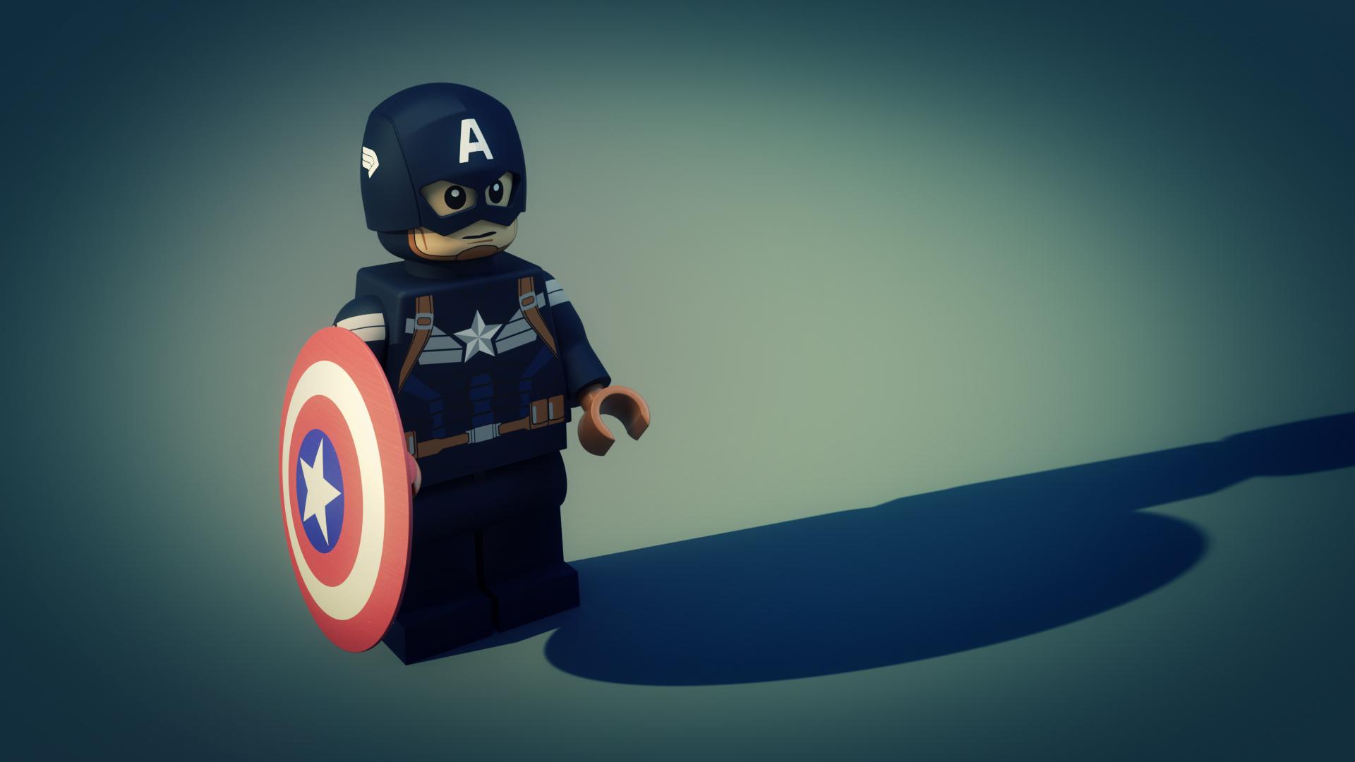 Marvel Lego <br> Captian Amarica